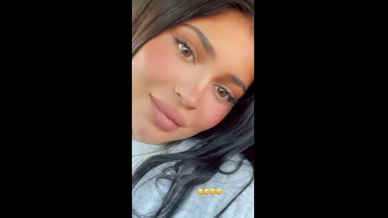 Drivers license via Kylie Jenner's Instagram stories