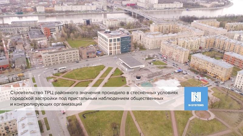 Эн Системс Проекты ТРК Спутник в Невском районе Санкт Петербурга