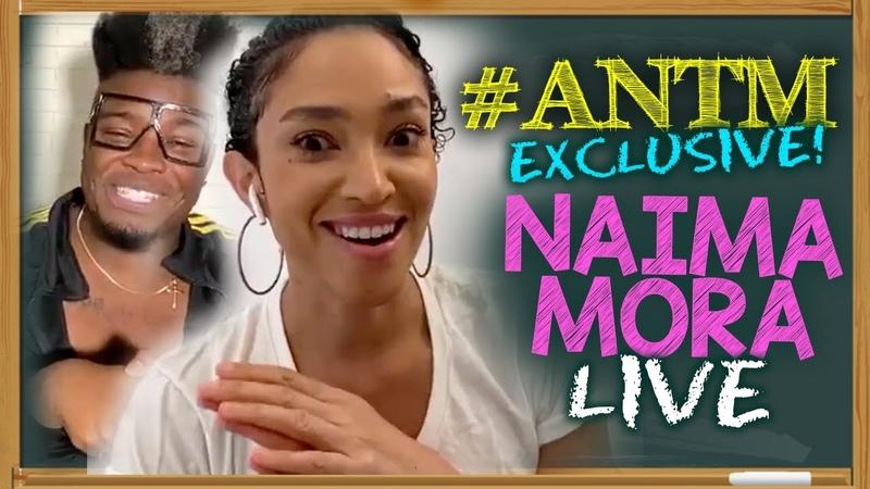 ANTM Winner Naima Mora Talks LIVE The Blackface Scandal Tyra Yelling at Tiffany Moment AND MORE