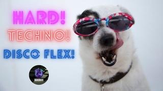 Хозяин и собака танцуют под жесткое техно 2021 The owner and the dog dance to the hard techno 2020