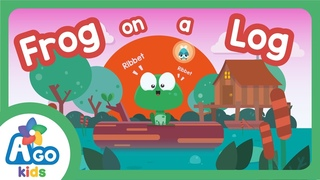 Frog on a Log Song | There is, There are | BINGOBONGO Learning