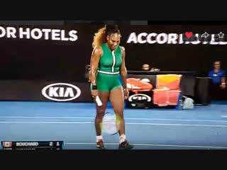 Серена уильямс serena williams - теннис ао прямой эфир прямого эфииа 2019 - только друзьм от #фс2019