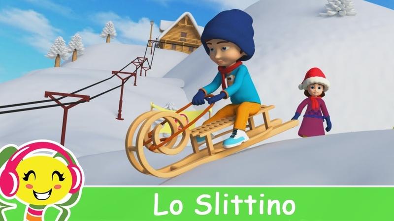 Lo Slittino 🛷 Canzoni di Natale per Bambini in Italiano 🎄