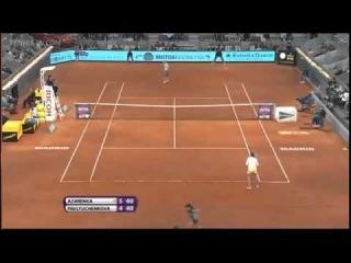 Victoria Azarenka v Anastasia Pavlyuchenkova Madrid Open 2013 2 R Full  YouTube