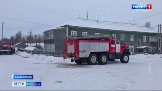 Стали известны подробности нескольких серьёзных пожаров в Архангельске в праздничные выходные