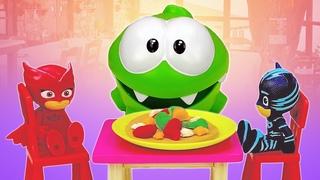 O restaurante de comidinhas de Play-Doh! Educação infantil com brinquedos em português