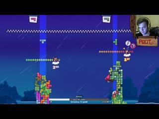 MightyPoot  (васд, зебуро, 5 стрим по зельде, tricky towers) (часть 1)