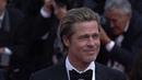 Brad Pitt Camina por la Alfombra Roja