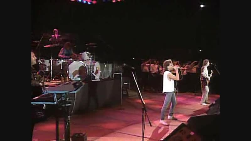 Foreigner Super Rock 85 Festival Seibu Stadium in Tokyo Japan Aug 10 1985
