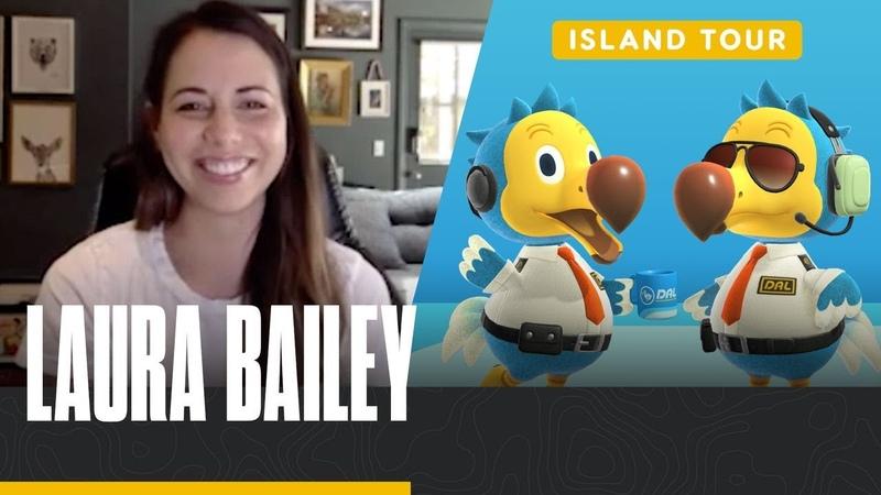 Laura Bailey's Oasis Island Tour Animal Crossing New Horizons