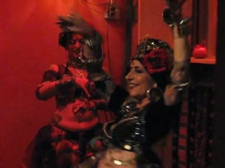 Carolena Nericcio of Fat Chance Bellydance Solo _ Troupe Performance at the 25th Anniversary Party