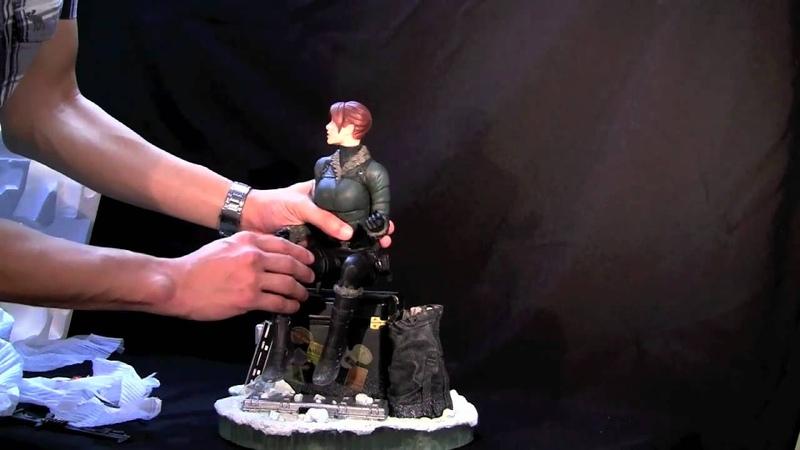 Video Review Limited Edition Lara Croft Adam Hughes Sideshow