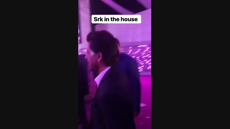 Shah Rukh Khan at Mohammed Morani Son Azhar Morani Sangeet Party