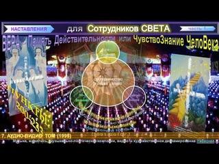 """(7) """"НАСТАВЛЕНИЯ для Сотрудников СВЕТА""""-(п. )-1 ч (1991-2010 г)- Небесная Нить"""