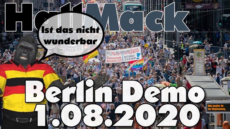 Berlin Demonstration 1 8 2020