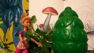 Сипсик собирает грибы