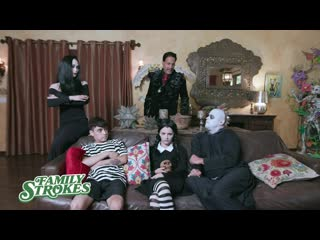 Halloween costume party ends with creepy fam