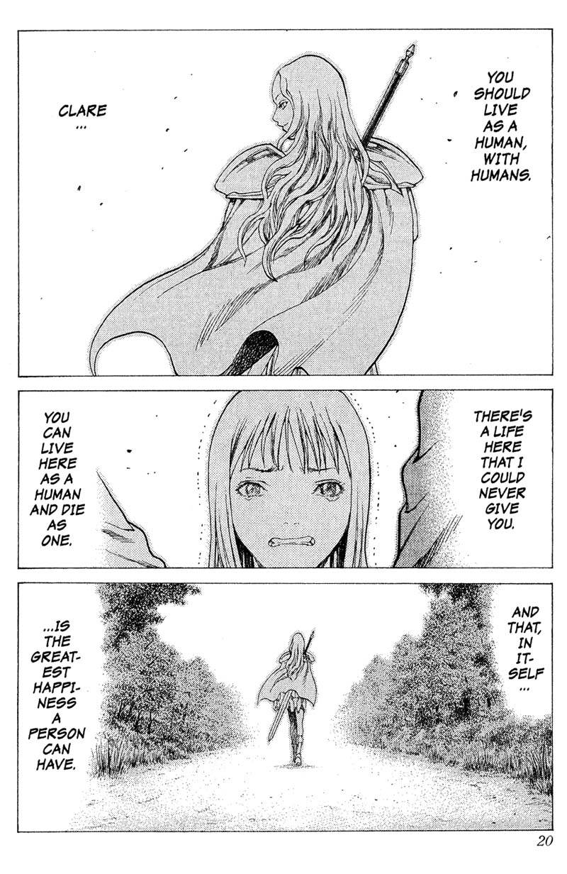 Claymore, Chapter 16, image #19