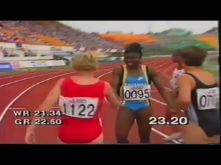 1990 Commonwealth Games Womens 200m heats and Final