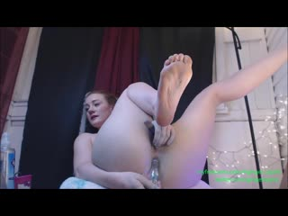 Anal Alien Jizz In Highschool Redhead P3 -   Gingerspyce (Public, Outdoor, Squirting, DP,  Pussy Masturbation)