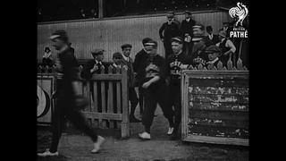 Leyton vs Crystal Palace (1911)   British Pathé Gems Nº17