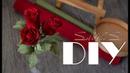 DIY soli4ka_s Голандська троянда з гофропаперу/ голландская роза с гофробумаги/ crap paper rose
