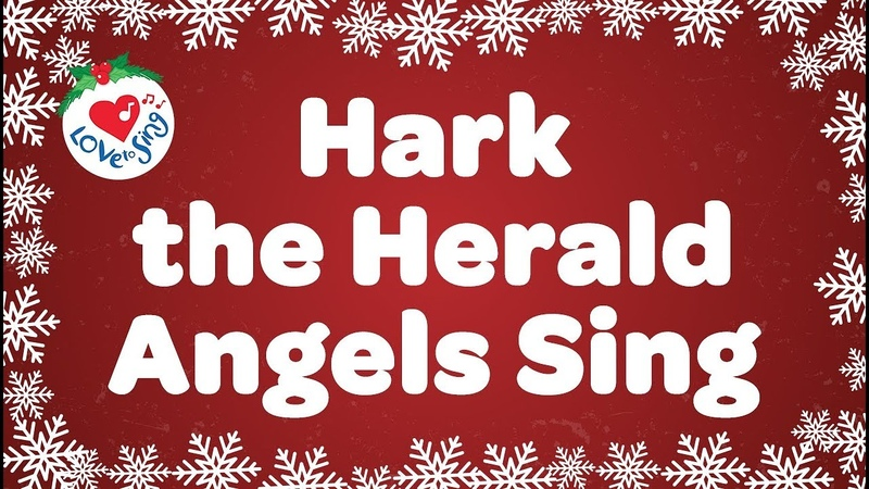 Hark the Herald Angels Sing with Lyrics | Christmas Carol Song