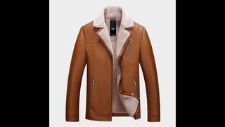 Осень и зима 2019 новый для мужчин меховой в одном кожаная куртка