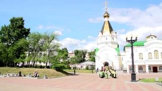 Встреча мощей святителя Луки Крымского в кафедральном соборе Преображения Господня г. Хабаровска