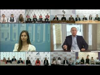 Путин ответил на вопрос об акциях в поддержку Навального 23 января