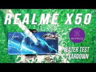 Realme X50 Waterproof Test