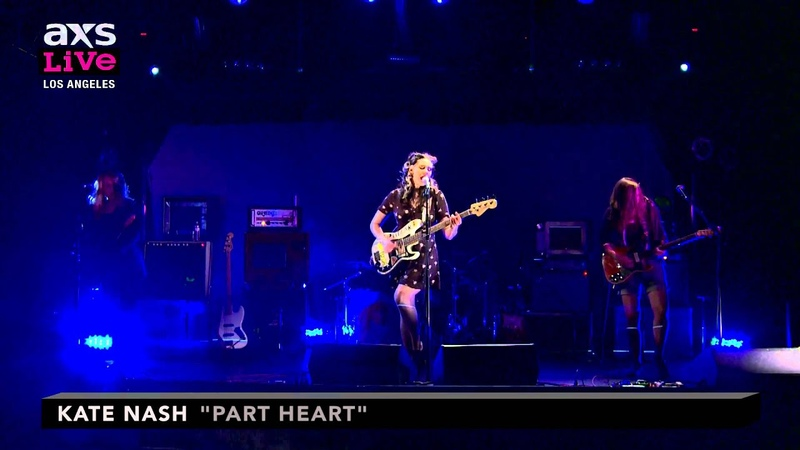 Kate Nash Performs Part Heart on AXS Live