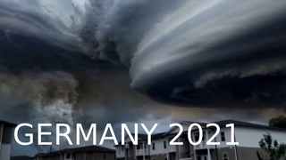 The sun disappeared in Germany! A Scary Huge dark clouds over Stuttgart