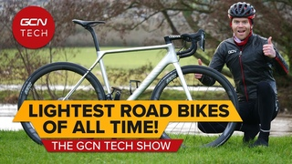 The Lightest Road Bikes Money Can Buy | GCN Tech Show 162