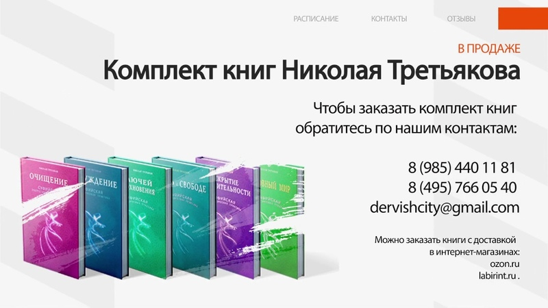 Книги Николая Третьякова Dervish City