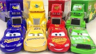 Большая Коробка Игрушек Красного Синего Желтого Зелёного Цвета Тачки Машинки Хот Вилс Тоботы
