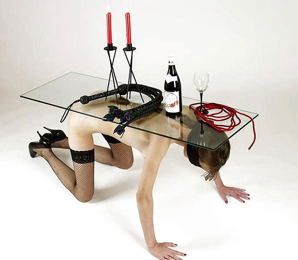 Our New Kinky Coffee Table
