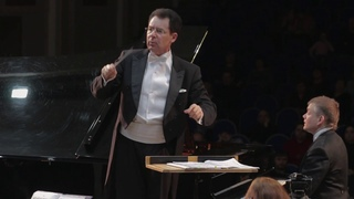 J. Brahms Piano Concerto No.1 d-moll, .  Andrey Shibko (piano). Conductor - Pavel Gershtein.