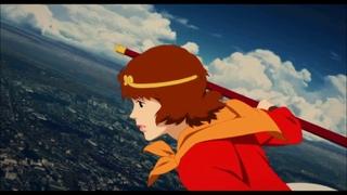 paprika (2006) Flying Scene  [HD]