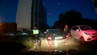 Погоня за нетрезвым водителе.