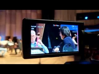 Юрий Башмет репетирует со своим оркестром в БКЗ