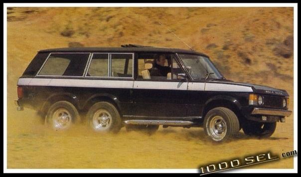 Carmichael Commando Данный внедорожник был создан во второй половине 70-х гг. британской кузовной фирмой Carmichael & Sons, специализировавшейся на производстве пожарных машин. В 1974-м году
