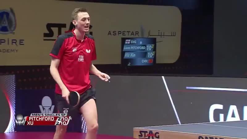 Liam Pitchford vs Xu Xin 2020 ITTF Qatar Open Highlights 1 2
