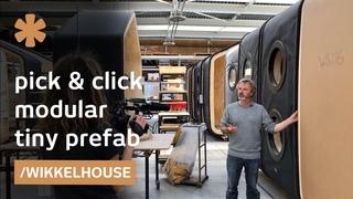 Wikkelhouse: pick your modular segments & click them together
