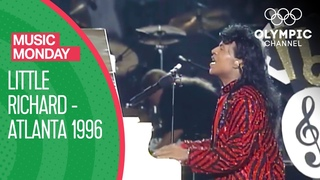 Little Richard's Legendary Performance at Closing Ceremony of Atlanta 1996   Music Monday