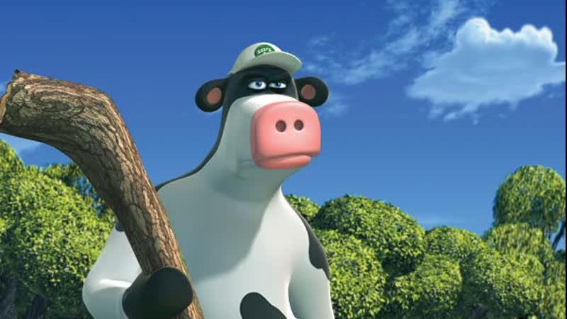 Финал коровьих приключений d 5 А затем щупаем кошачий детектив wat