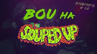 Bou на Souped Up, альбом Data 3, анонсы Audio, Black Barrel, Enei, Maduk, Billain и Dub Elements