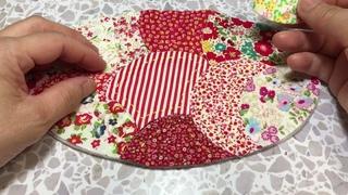 楕円形から作るミニバック/ Mini bag made of oval/ Mini bolso de óvalo/ Mini bolsa em oval/ Мини-сумка овальная