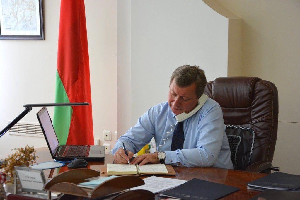 1 августа «прямую телефонную линию» Брестского городского исполнительного комитета проведет Александр Рогачук