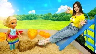 Кен забрал из детского сада ДРУГУЮ КУКЛУ - Истории Барби. Классные мультики для девочек